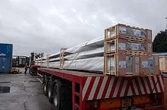 Shipping abnormal loads to Ireland | Irish Groupage